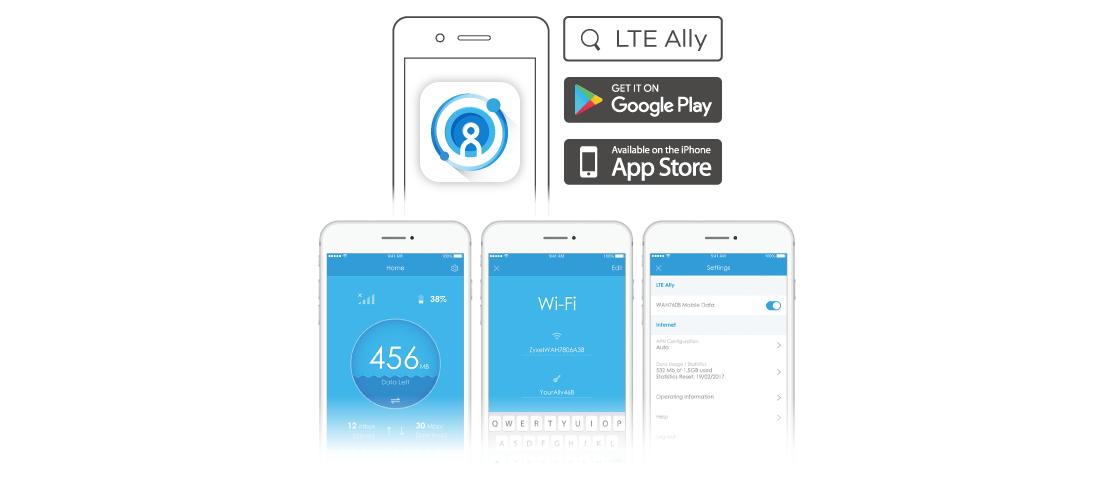 WAH7608 4G LTE Taşınabilir Router | Zyxel