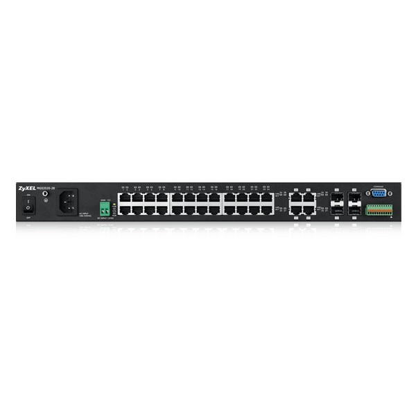 FTTx Solutions, MGS3520-28, 24-port GbE L2 Switch