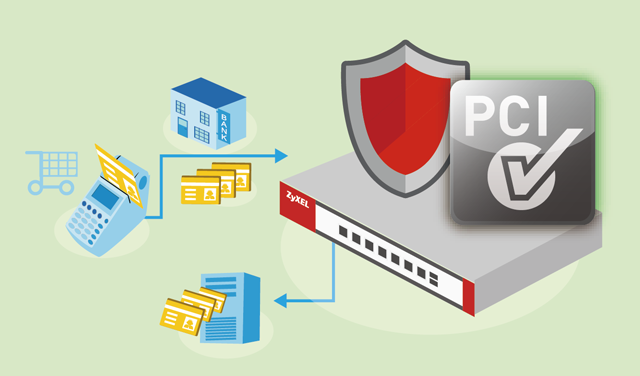 ZyXEL offers a gateway solution for PCI DSS compliance